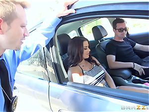 Keisha Grey getting pulverized via the car