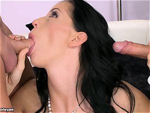 fuck-stick starving bi-atch Larissa Dee is deepthroating one pillar at a time with enjoyment