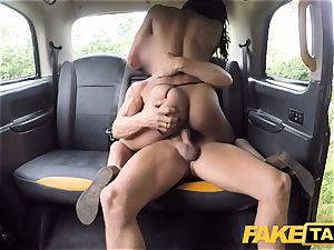 faux cab rapid pounding and internal cumshot for peachy culo
