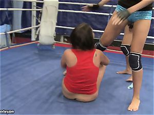 Emma bootie and Larissa Dee doll hot struggle
