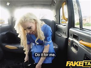 fake taxi big-titted nasty nurse pees and rough boinking