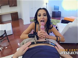 Ava Addams - large funbags in act point of view