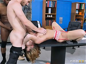 Britney Amber getting group pounded