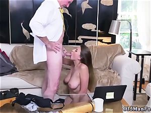 Latino parent and bi hotwife man first time Ivy makes an impression with her fat boobs and rump