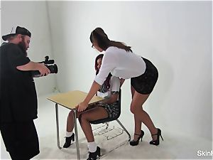 Behind the vignettes with skin Diamond and Alison Tyler