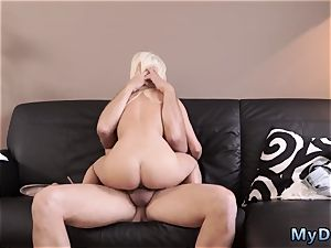 puny nubile mouth fuck first time horny light-haired wants to attempt someone lil' bit