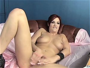 sensuous Jayden Cole loves teasing her delicious raw pleasure button