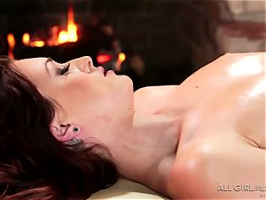 Karlie Montana and Megan Rain incredible facesetting and ejaculation