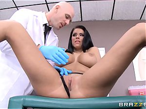 Peta Jensen is perfectly sated by her doc