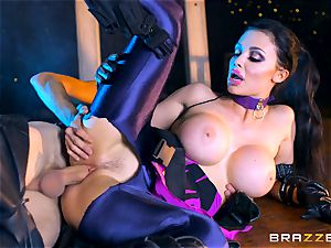 Aletta Ocean stuffed with the monster weenie of Danny D