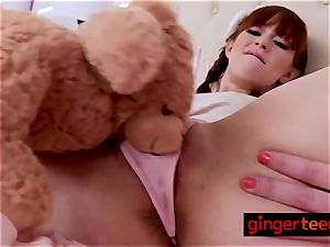 red-haired Alexa gets deeply fucked by crazy stepfather deep and rock-hard