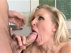 Julia Ann is a gonzo milf who wants to put her gash on a firm man-meat