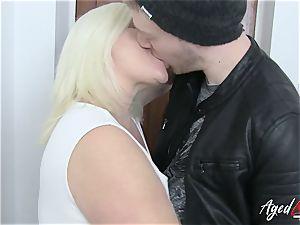 AgedLovE Lacey Starr tempts xxx fuckfest lover