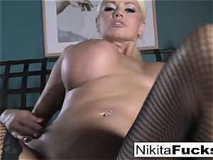 point of view pulverizing Nikita Von James with a ample penis