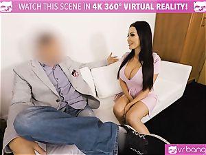 VR PORN-Hot ebony torn up rock-hard on valentines day fellow pov