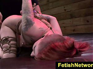 FetishNetwork Sheena Rose tormented love button
