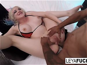 xxx buttfuck multiracial nailing with Leya Falcon