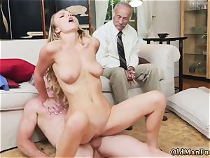 big breast platinum-blonde british nubile and job jizz flow compilation Molly Earns Her Keep