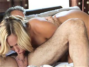 sizzling ash-blonde wife Olivia Austin The Key Sn 4