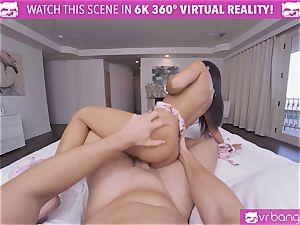 VRBangers warm virgin dark-haired honey Getting orgasm