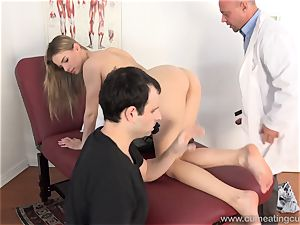 Jillian Gets plowed By Real man in Front of spouse